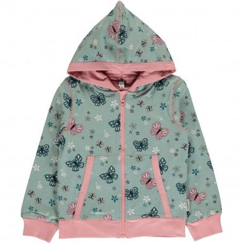 Maxomorra butterfly hooded cardigan