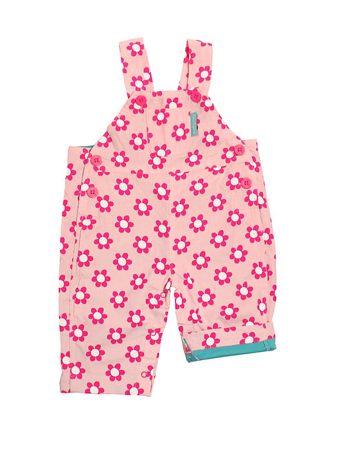Toby Tiger Daisy Cord Dungarees