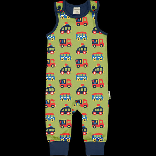 Maxomorra dungarees colourful cars