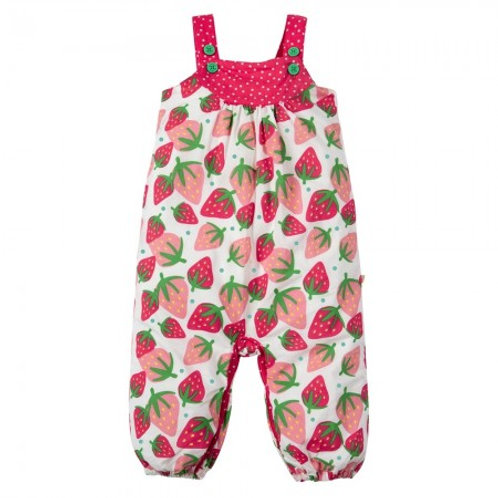 Frugi Strawberries Springtime Dungaree