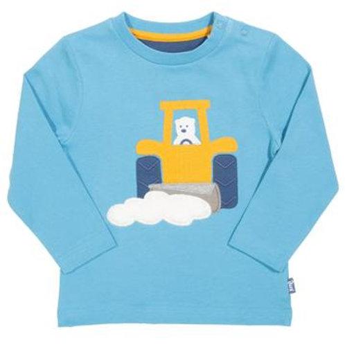 Kite Snow Tractor T-Shirt