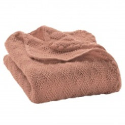Disana knitted merino wool blanket
