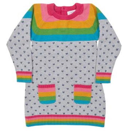 Kite Rainbow Knit Dress
