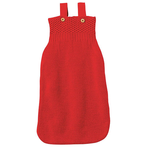 Disana organic merino wool knitted sleeping bag