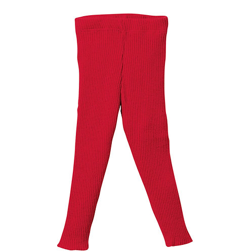 Disana organic merino wool knitted trousers/leggings