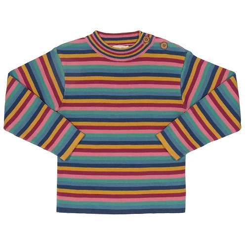 Kite Rainbow Stripe Jumper
