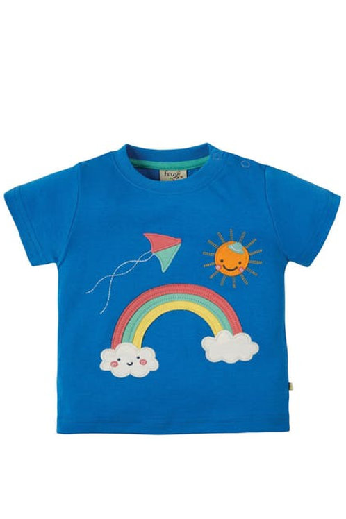 Frugi Little Creature Applique T-shirt