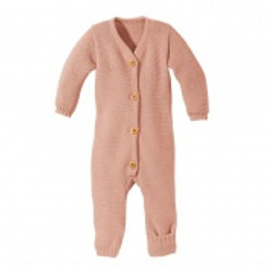 Disana merino wool knitted overall