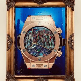 Hublot New York (40x30 cm)
