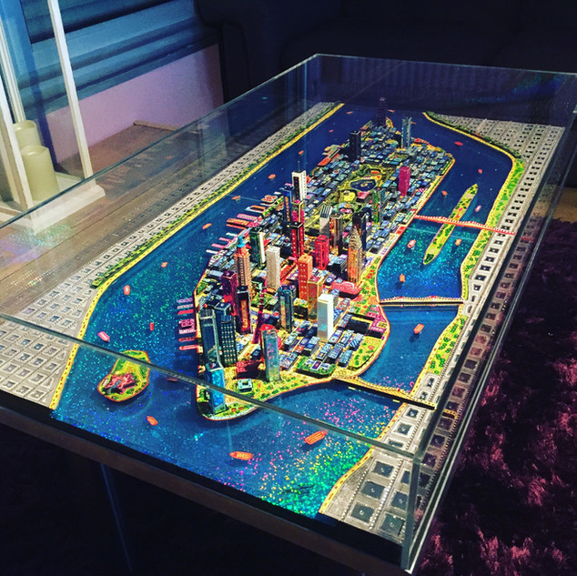 Table Manhattan 3D