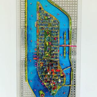 Table Manhattan 3D