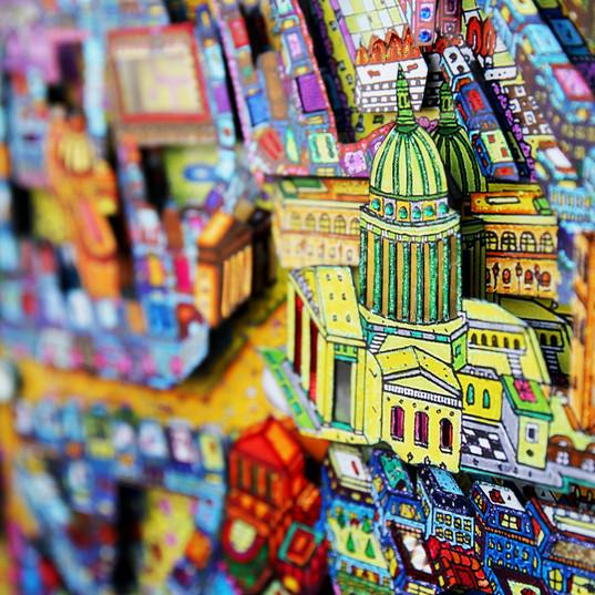 Paris 3D - Pantheon