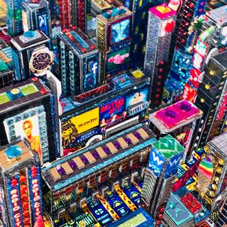 Manhattan 3D (Time Square)