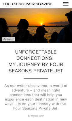 Travel feature and photography