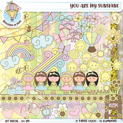 "Kit digital ""You are my sunshine"""