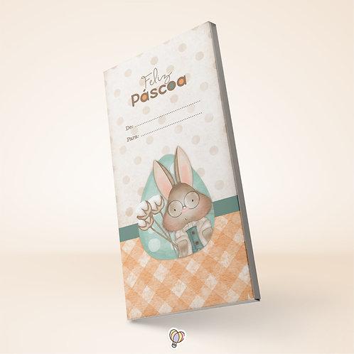 Páscoa afetiva - Cx Barra de Chocolate