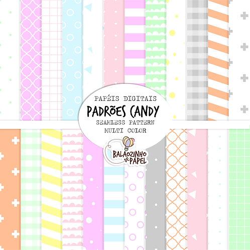 Seamless Pattern - Multi Candy