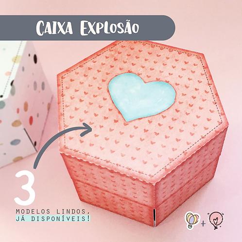 Amor Perfeito - Caixa Explosão