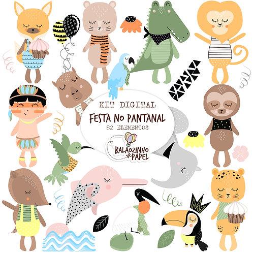 Cliparts Festa no Pantanal