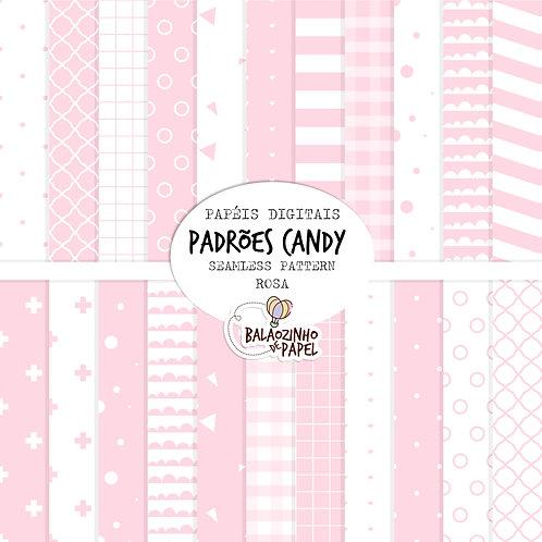 Seamless Pattern - Rosa Candy