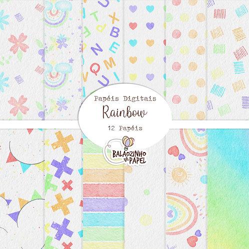 Rainbow - Papéis Diversos