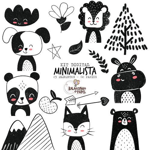 COMBO - Animais minimalistas