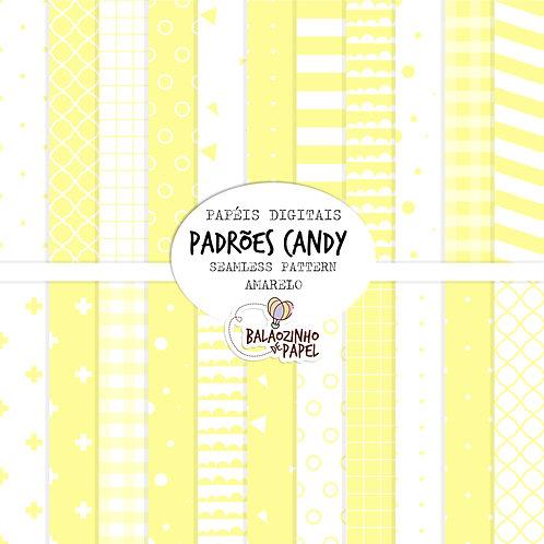 Seamless Pattern - Amarelo Candy