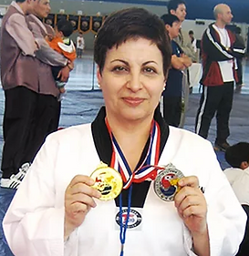Lisa Luciano Martial Arts Photo