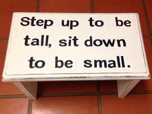 Repurposed Step-Stool Tutorial