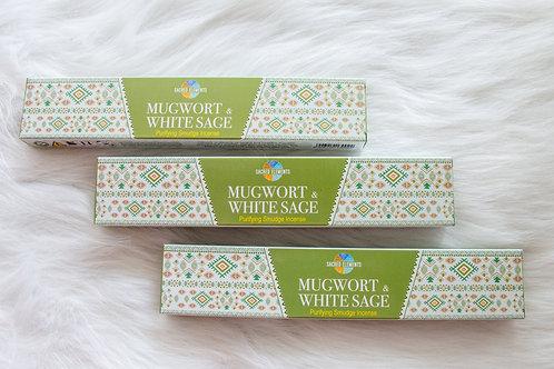 SACRED ELEMENTS - MUGWORT + WHITE SAGE