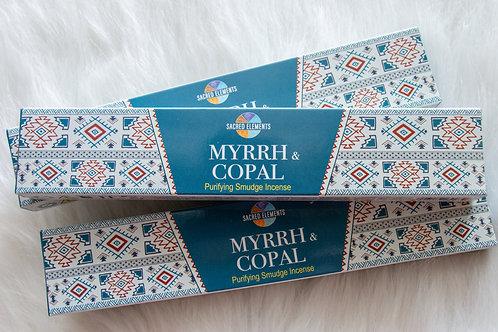 SACRED ELEMENTS - MYRRH + COPAL