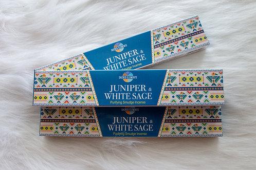 SACRED ELEMENTS - JUNIPER + WHITE SAGE