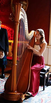 Sarah Goss Brooklyn Event Harpist Spencer House