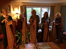 Sarah Goss New York Harp Teacher Silver Strings Harp Group UK