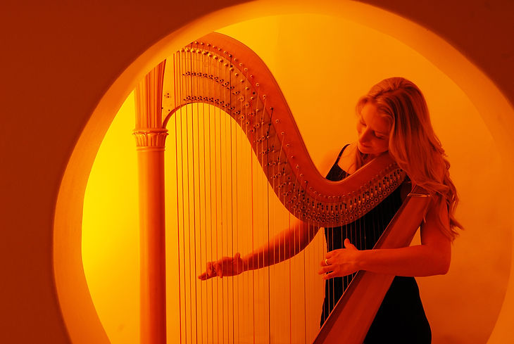 Sarah Goss Brooklyn New York NJ CT Long Island Wedding Harpist Har Teacher
