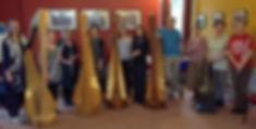 Sarah Goss Harp Coach Peak District Flute and Harp Weekend