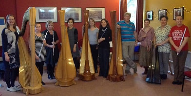 Sarah Goss Harp Coach Peak District Flute and Harp Weekend