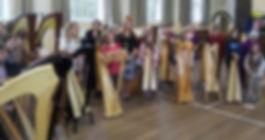 Sarah Goss Brooklyn Harp Teacher Annual Harp Day