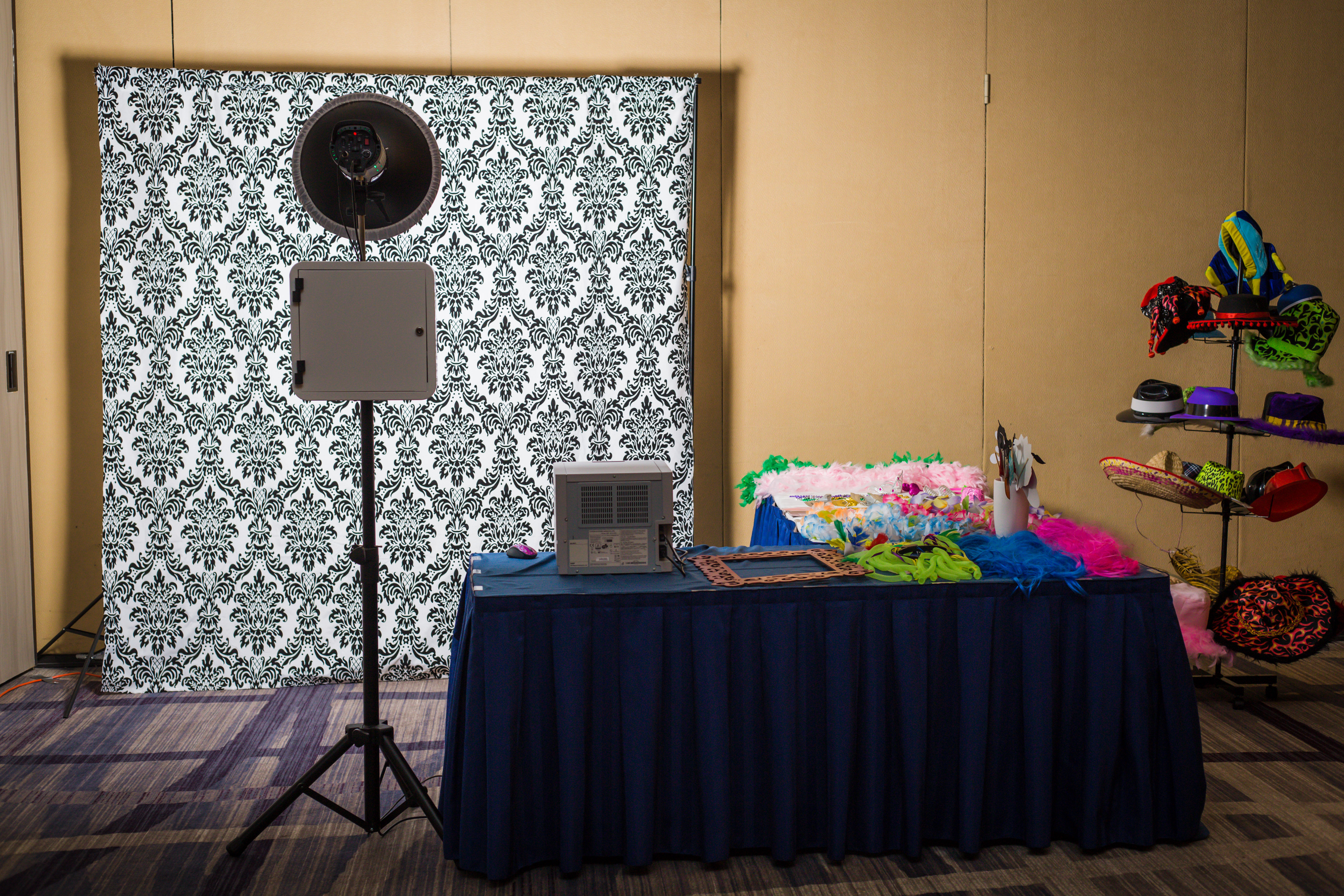 Photo Booth Set up 1