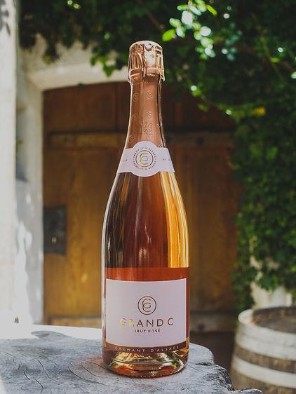 Grand C Brut Rosé, Crémant d'Alsace AC, Méthode Traditionelle