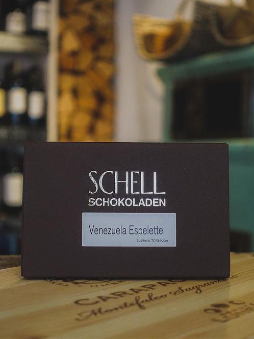 Venezuela Esplette Edelherb Schokolade, Confiserie Schell
