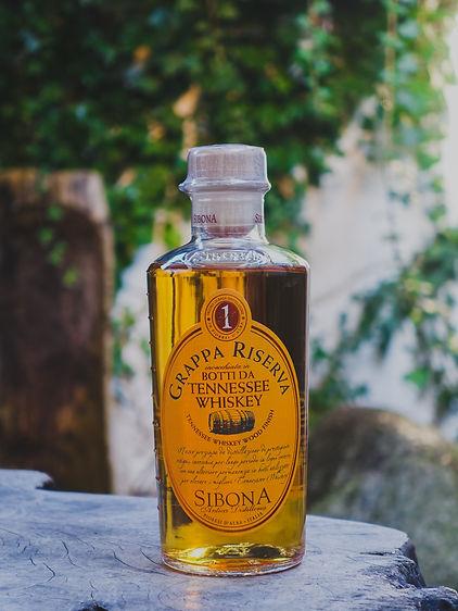 Grappa Whiskey Wood, Sibona