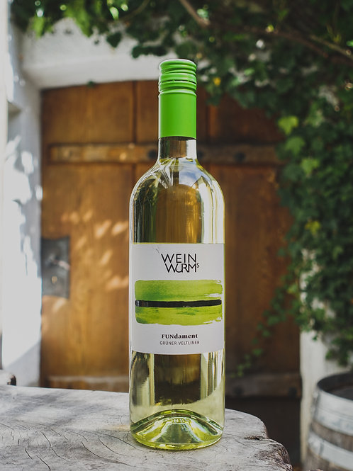 FUNdament Gruener Veltliner, Weingut Weinwurms, Weinviertel