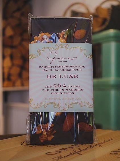 De Luxe Vollmilchschokolade, Confiserie Gmeiner