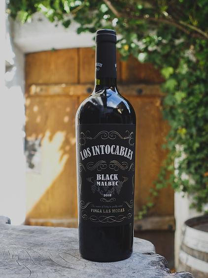 Los Intocables Black Malbec, Finca las Moras, Mendoza
