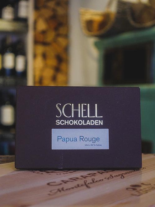 Papua Rouge Vollmilchschokolade, Confiserie Schell