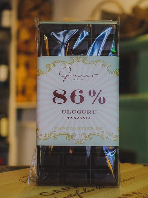 Uluguru 86% Schokolade, Confiserie Gmeiner