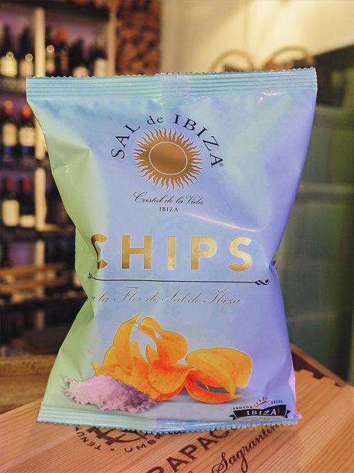 Fleur de Sel Chips, Sal de Ibiza