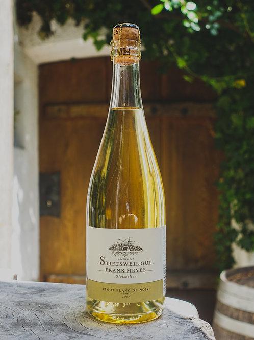 Pinot Blanc de Noir brut, Winzersekt, Stiftsweingut Frank Meyer, Gleiszellen