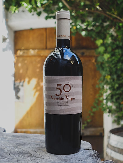50 Vecchie Vigne Negroamaro , Cignomoro, Apulien